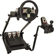 Marada G920 Steering Wheel Stand with Shifter Mount,Racing Wheel Stand Height Adjustable fit for Logitech G920 G29 G27 G25...