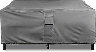 "KHOMO GEAR Large GER-1037 Waterproof Heavy Duty Outdoor Lounge Loveseat Sofa Patio Cover, (88'' x 32.5'' x 33""), Titan Ser..."