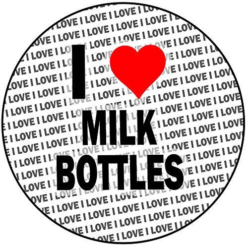 AK Giftshop Ik hou van melk flessen - ronde 8