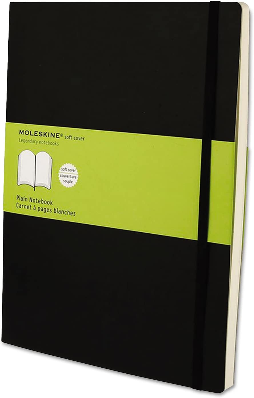 NEW Moleskine MSX17 Classic Softcover Notebook Plain 10 x 1 7 2 Jacksonville Mall Blac