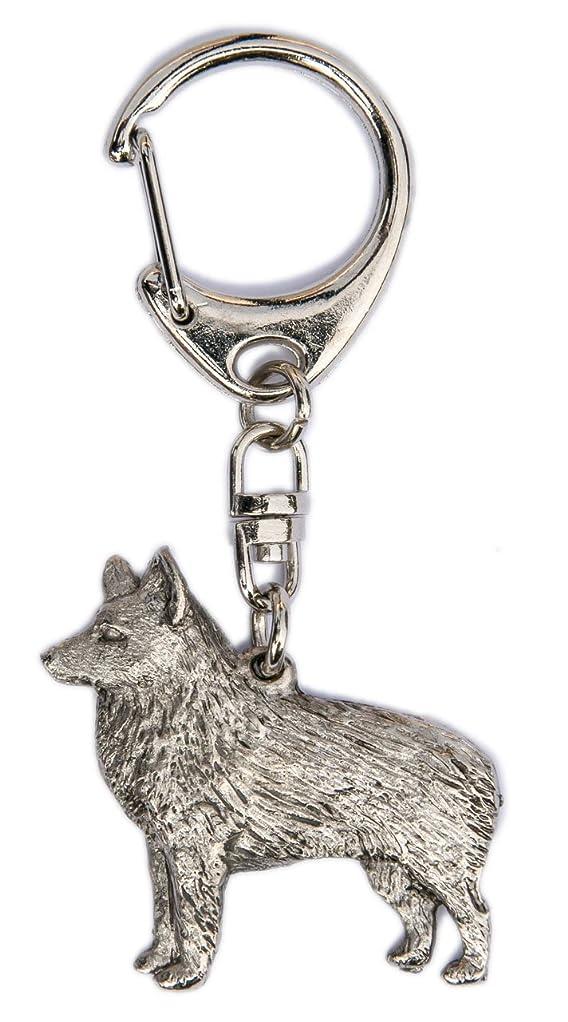 艦隊間違えたヤングスキッパーキイギリス製Artisticスタイル犬キーリングコレクション