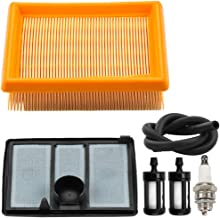 Kuupo 4224 140 1801 4224 141 0300 Air Filter Combo Kit with Pre Cleaner Fuel Line Kit for Stihl TS700 TS800 Concrete Cut-Off Saws 4224-140-1801A
