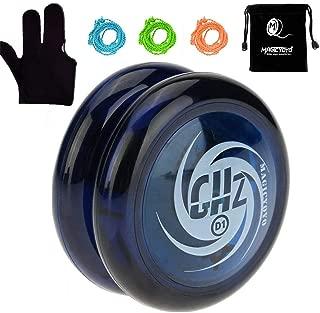 MAGICYOYO Looping Yoyo Responsive Yoyo Ball Bearing Yoyo Axle, Premium Plastic Yoyo, Super Durable+ Yoyo Glove + Yoyo Bag + 3 Yoyo Strings (D1)