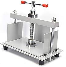 Aboyia - Afilador de papel para encuadernación de documentos (A4, acero, manual, plano, con tornillos)