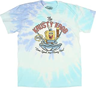 Men's The Krusty Krab Spend Your Money Here Tie Dye Adult T-Shirt