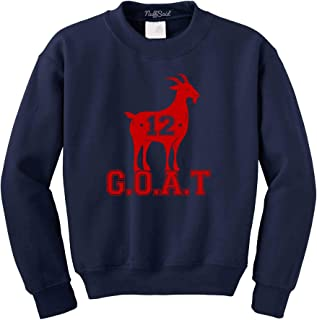 Best tb12 goat sweatshirt Reviews