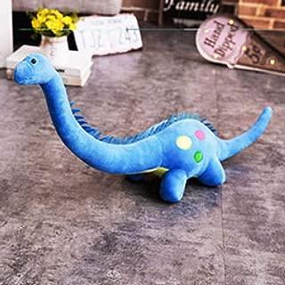 Diplodocus Stuffed Dinosaur Plush Toy Standing Soft Dino Dinosaurs Giant Animals Plushie Kids Gift Pink Green Blue 80cm/110cm Blue Length 110cm