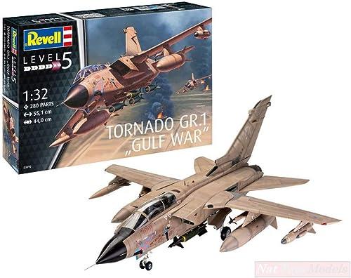 Revell RV03892 Tornado GR MK.1 RAF Gulf War KIT 1 32 MODELLINO Model Compatible avec