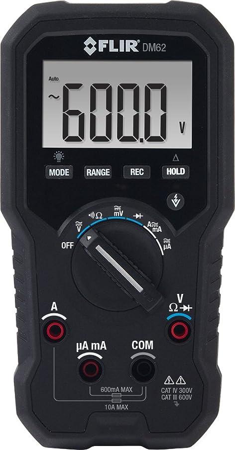 FLIR DM62 TRMS Digital Multimeter with Non-contact Voltage