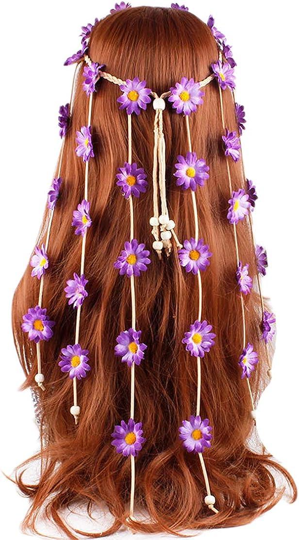 LeJulyeekay Women's Max 85% OFF Boho Feather Hair Headband Tassel Fascinator Animer and price revision
