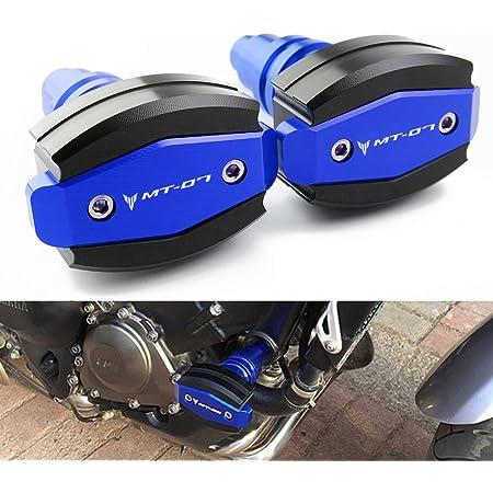 Motorrad Sturzschutz Sturzpads Crashpads Frame Sliders Falling Crash Pad Protektoren Für Yamaha Mt07 Mt 07 2014 2020 Auto
