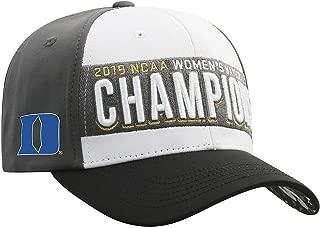 Elite Fan Shop Duke Blue Devils Women's National Golf Championship Hat 2019