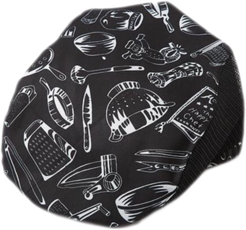 Fashion Cook Hats Hotel Cafe safety Breathable Fashionable Mesh Hats-Kitchenwa Chef
