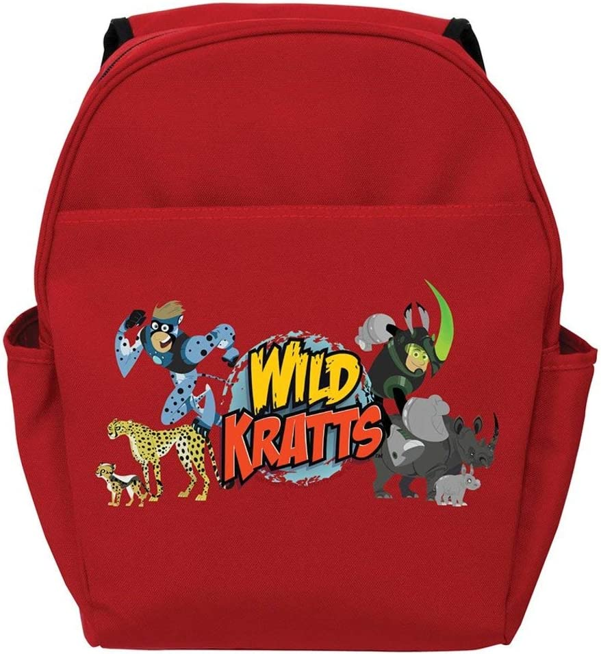 Red sold out Phoenix Mall Wild Kratts Creature Adventure Backpack Toddler 14