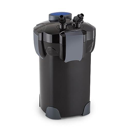 Waldbeck Clearflow 18 • Filtre externe pour aquarium • Système de filtrage en 3 parties • Capacité max de 400 L • Moteur pompe économique 18W • Filtres amovibles • Jusqu'à 1 000 litres/heure