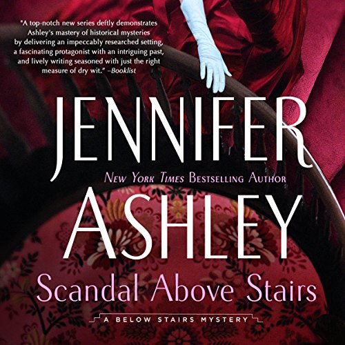 Scandal Above Stairs audiobook cover art