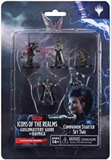 Wizkids D&D Icons of The Realms Guildmasters Guide to Ravnica Companion Starter Two Board Games