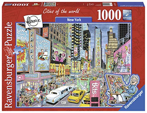 1000 piece puzzles time square - 8