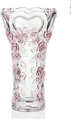 46bec6d32 creative glass vase/ home floral arrangement flower/ ornament ornaments-A