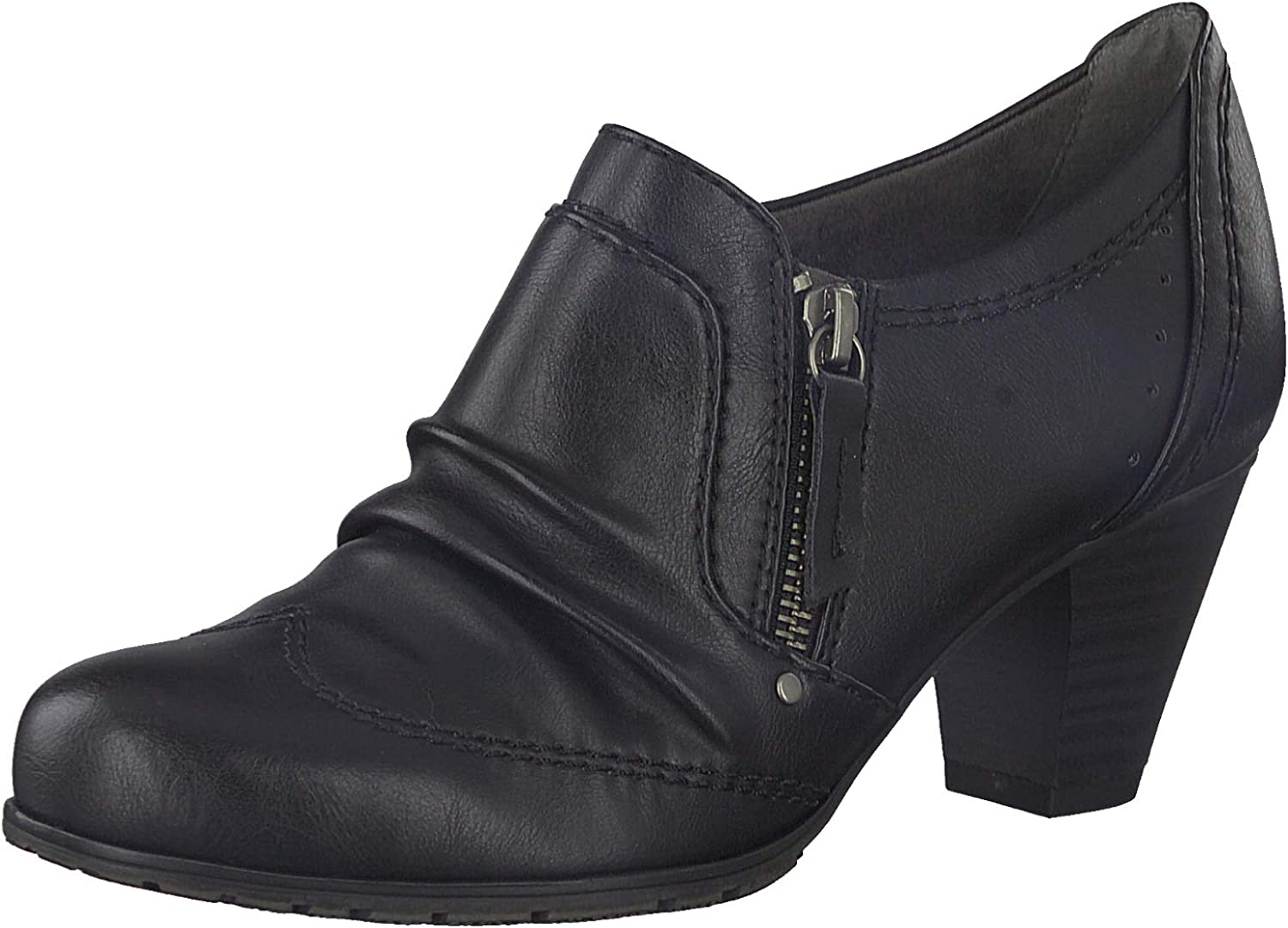 Jana shoes Ashley Bootie in Black