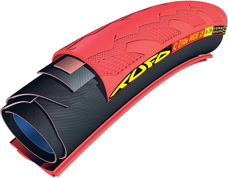 Tufo 700X23 C Elite Ride 25 TubularClincher Tire (Black)