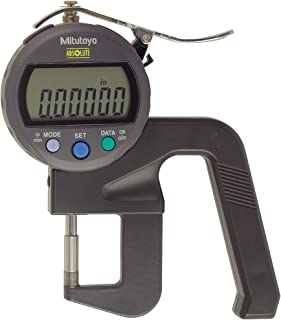 0-0.47//0-12 mm 0.0005 //0.01 mm 0-0.47//0-12 mm 0.0005 //0.01 mm Mitutoyo America Corporation Mitutoyo 547-512S Digimatic Absolute Thickness Gage