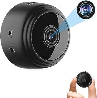 OVEHEL Mini WiFi Spy Camera HD 1080P Wireless Hidden Camera Video Camera Small Nanny Cam with Night Vision and Motion Acti...