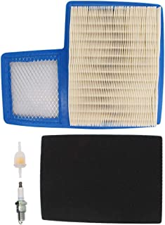 Air Filter Spark Plug Tune-Up Kit For Yamaha G16 G19 G20 G22 G29 Drive Gas Golf Cart 1996-UP 4 Cycle 301cc 357cc Engine Replaces JN6-E4450-01 JN6-E445E-00 Stens 100-954