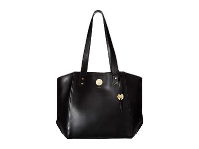 Lodis Accessories Rodeo RFID Jenna Tote (Black) Tote Handbags