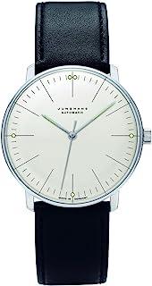 JUNGHANS - MAX Bill 027/3501.00 - Reloj de Caballero automático, Correa de Piel Color Negro