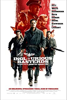 "Inglourious Basterds - Movie Poster - Size 24""x36"" This is a Certified Poster Office Print with Holographic Sequential Numbering for Authenticity."
