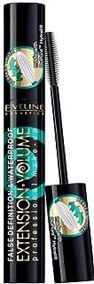 Eveline Make Up Mascara Extension Volume Waterproof, Black, 10 ml