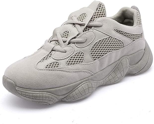 Chaussures de Sport, Chaussures en Filet, Chaussures de course-gris-38