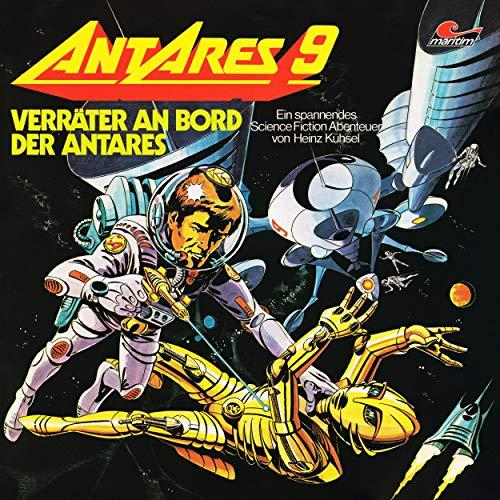 Verräter an Bord der Antares cover art