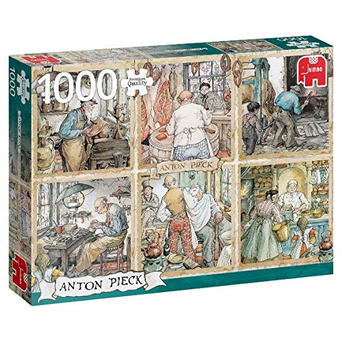Jumbo 18817 Puzzel Anton Pieck: Vakmanschap 1000 Stukjes
