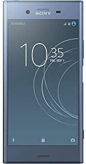 Sony Xperia XZ1 Dual Sim - 64 GB, 4GB RAM, 4G LTE, Moonlight Blue