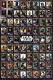 1art1 Star Wars - Charaktere, Daten Poster 91 x 61 cm