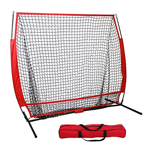 DOLA Baseball Practice Net 5 * 5 Ft - Portable Batting Cage Baseball...