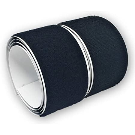 Bande avec envers adhésif ultra-puissant Noir 50mm x 1m