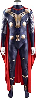 Kids Thor Costume Carnival Party Jumpsuit Halloween Unisex Fancy Dress Onesies Lycra Spandex 3D Print Tight Movie Fans Bod...
