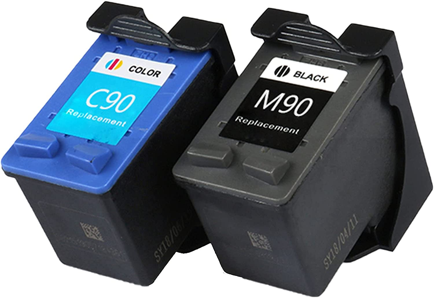 VDFHB Compatible Ink Cartridge M90 / C90 for Samsung SCX-1300/SCX-1350F/SF-450 Printer, High Page Yield 1-Set