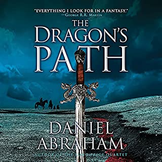 The Dragon's Path audiobook cover art