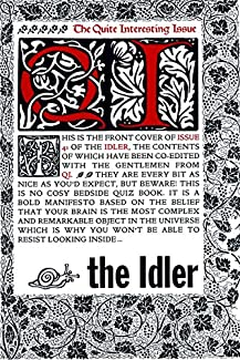 The Idler - Issue 41: The Quite Interesting Issue