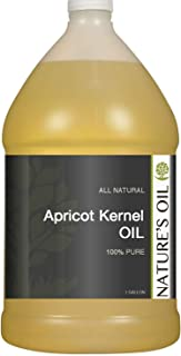 Nature�s Oil Apricot Kernel Oil Gallon - Hair and Skin Moisturizer. Carrier Oil for Essential Oils and Massage.