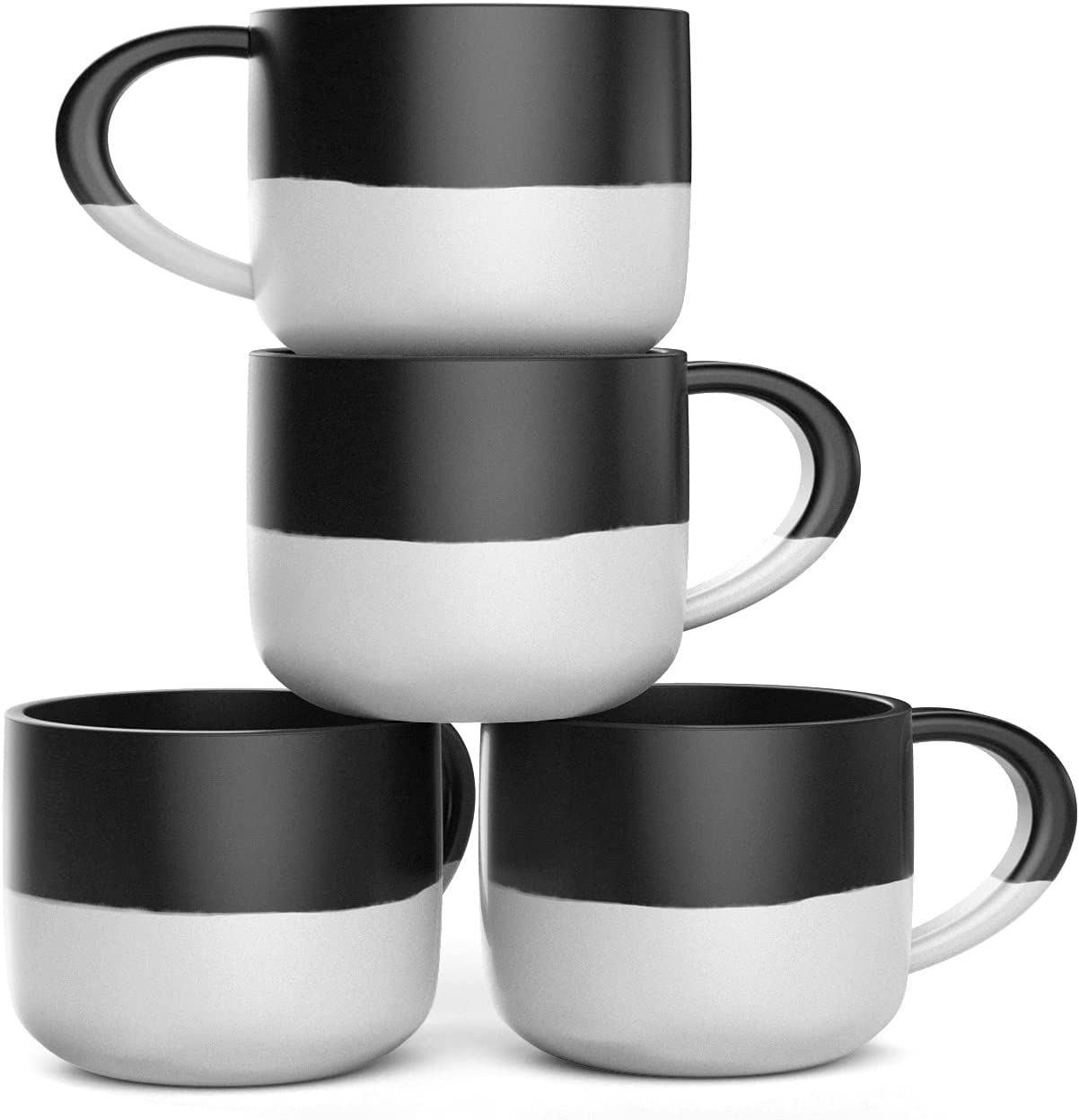 At the Luxury goods price Set of 4 Jumbo 18oz Wide-mouth Soup Mugs Ceramic Cereal Coffee
