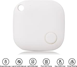 Bluetooth Tracker Key Finder, Pet Finder Phones Finder Compatible for iPhone 5/5s/6/6plus/7/7plus iPod Touch, Android Phones and More
