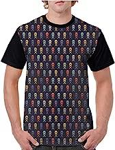 Lightly Printed Causal Tops Blouse,Pirates,Dangerous Sea Journey S-XXL Printed Tee Female Baseball Shirt
