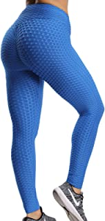 FITTOO Leggings Push Up Mujer Mallas Pantalones Deportivos A
