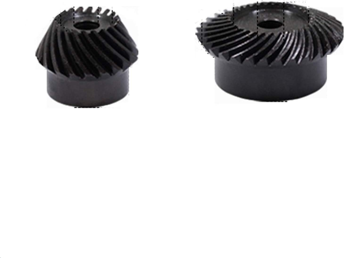 TONGCHAO Tchaogr 2pcs 1:2 Charlotte Mall Deluxe Bevel Gear 2 30t 15 Modulus + Teeth In
