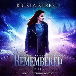 Remembered audiobook cover art